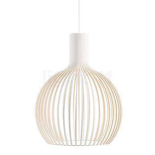 Secto Design Octo 4240 Pendelleuchte Weiß, laminiert/Textilkabel weiß
