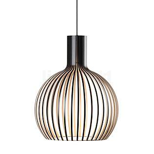Secto Design Octo 4241 Hanglamp zwart, gelamineerd/textielkabel zwart