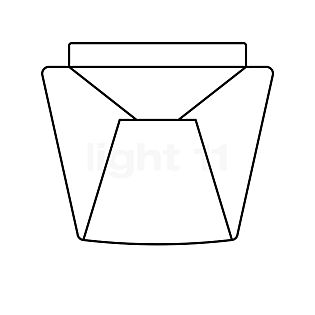 Serien Lighting Internal reflector crystal with Alukegel for Annex - Replacement part small, for Annex Halogen
