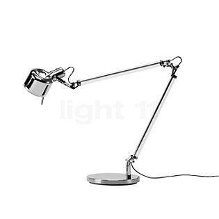 Serien Lighting Job Lampe de table acier inoxydable poli