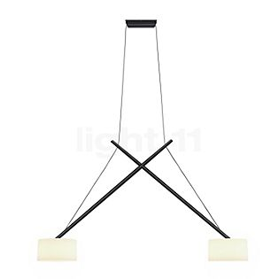 Serien Lighting Twin Hanglamp lampenkap acrylglas, chroom glanzend