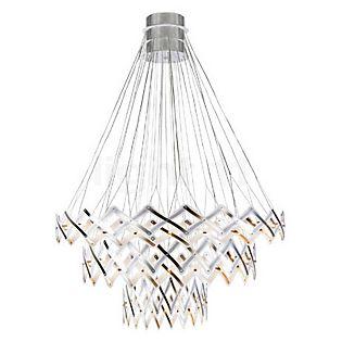 Serien Lighting Zoom Hanglamp, 3 elementen roestvrij staal geborsteld