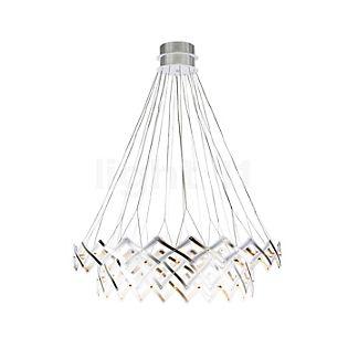 Serien Lighting Zoom Hanglamp LED 2 elementen roestvrij staal geborsteld