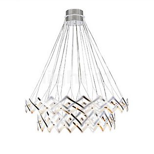 Serien Lighting Zoom Master Hanglamp, 2 elementen roestvrij staal gepolijst