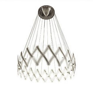 Serien Lighting Zoom XL Hanglamp roestvrij staal geborsteld
