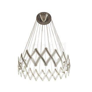 Serien Lighting Zoom XL Lampada a sospensione acciaio inossidabile spazzolato