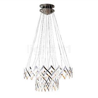 Serien Lighting Zoom XL Master Hanglamp, 2 elementen roestvrij staal gepolijst