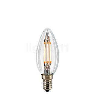 Sigor C35-dim 2,5W/c 827, E14 Filament LED kleurloos , uitloopartikelen