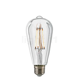 Sigor CO64-dim 7W/c 827, E27 Filament LED kleurloos