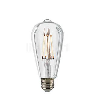 Sigor CO64-dim 7W/c 827, E27 Filament LED kleurloos