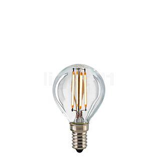 Sigor D45-dim 2,5W/c 827, E14 Filament LED kleurloos , uitloopartikelen