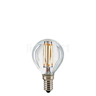 Sigor D45-dim 4,5W/c 827, E14 Filament LED kleurloos
