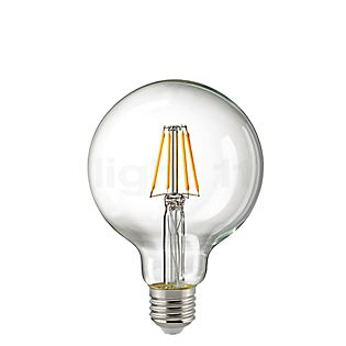 Sigor G95-dim 4,5W/c 827, E27 LED-Filament incolore