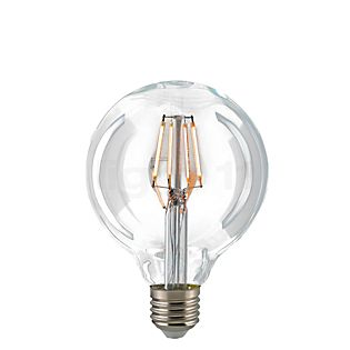 Sigor G95-dim 7W/c 827, E27 Filament LED Uden farve