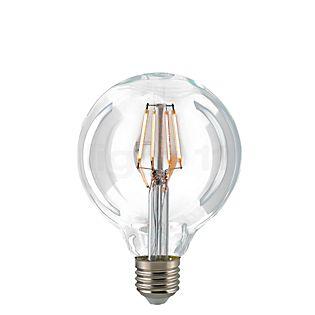 Sigor G95-dim 7W/c 827, E27 Filament LED kleurloos