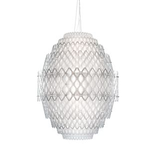 Slamp Charlotte Suspension LED blanc