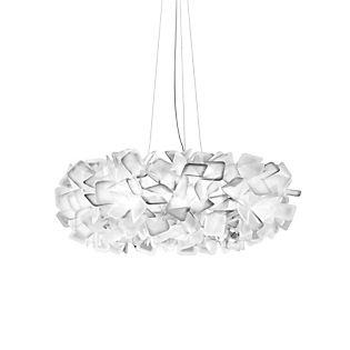Slamp Clizia, lámpara de suspensión blanco,  grande