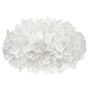 Slamp Clizia, lámpara de techo blanco,  grande