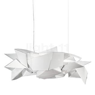 Slamp Cordoba, lámpara de suspensión LED blanco