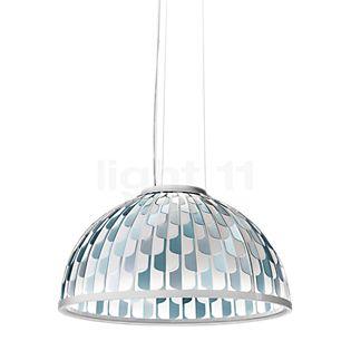 Slamp Dome Suspension LED bleu, ø55 cm