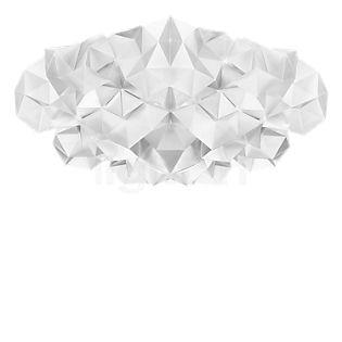 Slamp Drusa, lámpara de techo y pared blanco