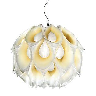 Slamp Flora, lámpara de suspensión blanco, 36 cm