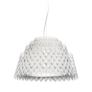 Slamp Half Charlotte, lámpara de suspensión LED blanco