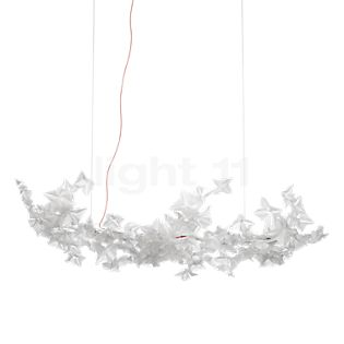 Slamp Hanami Pendant Light Large LED cable red