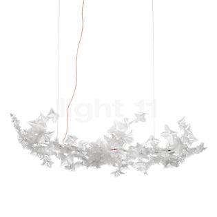 Slamp Hanami Pendant Light Large LED cable red