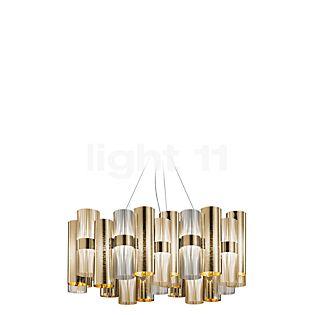 Slamp La Lollo Hanglamp L LED goud , uitloopartikelen