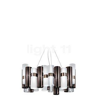 Slamp La Lollo Pendel L LED tin/hvid