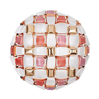 Slamp Mida Wand-/Deckenleuchte rosa, ø67 cm