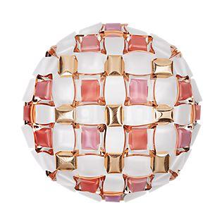 Slamp Mida, lámpara de pared y techo rosa, ø67 cm
