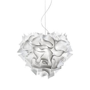 Slamp Veli Large, lámpara de suspensión blanco opalino