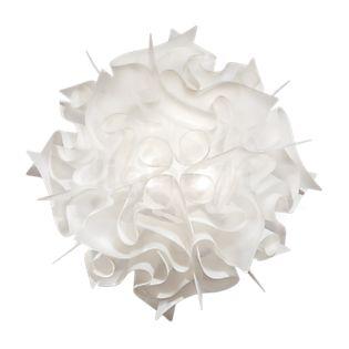 Slamp Veli Væg/Loftslampe opal hvid, ø53 cm