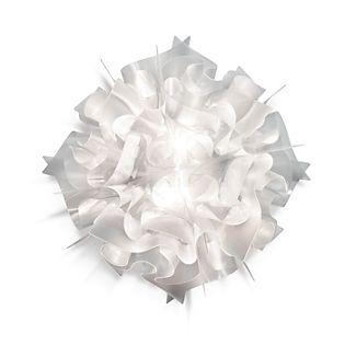 Slamp Veli, lámpara de pared y techo blanco opalino, ø53 cm