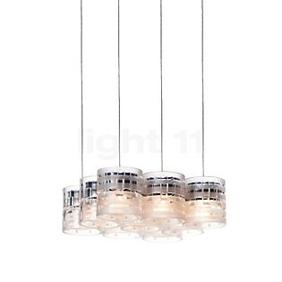 Steng Licht Combilight Pendant light 9 lamps transparent