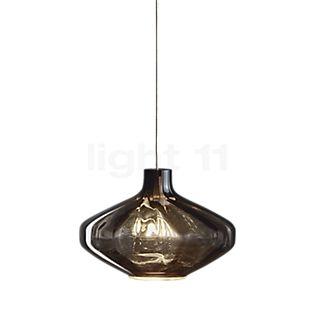 Steng Licht Glori-A L, lámpara de suspensión ahumado