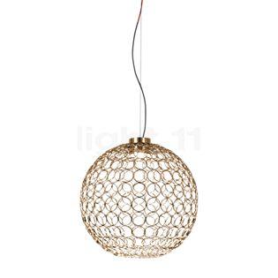 TERZANI G.r.a Pendant Light LED gold, ø54 cm