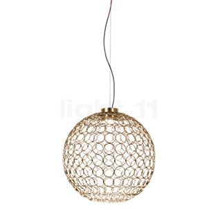 TERZANI G.r.a Suspension LED doré, ø54 cm