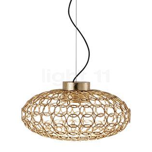 TERZANI G.r.a Suspension ovale LED doré