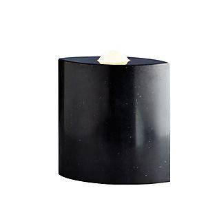Tecnolumen Egyptian Eye, lámpara de suelo negro pulido