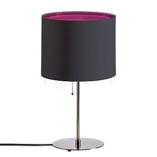 Tecnolumen TLWS 05/2 Lampe de table anthracite sur pellicule magenta