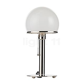 Tecnolumen Wagenfeld WA 24 Bordlampe body nikkel/fod nikkel