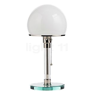 Tecnolumen Wagenfeld WG 24 Table lamp body transparent/base glass