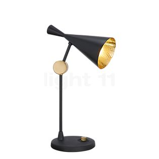 Tom Dixon Beat Lampe de table noir/laiton