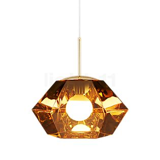 Tom Dixon Cut Suspension doré, ø44 cm