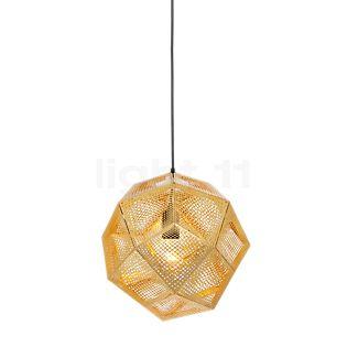 Tom Dixon Etch Hanglamp messing, ø32 cm