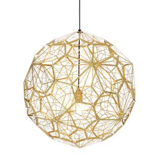 Tom Dixon Etch Web Lampada a sospensione ottone