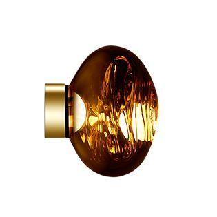 Tom Dixon Melt Applique/Plafonnier LED doré, 30 cm